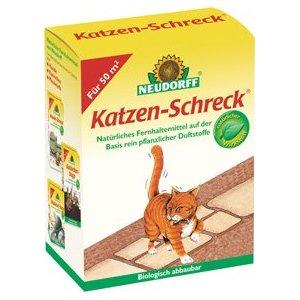 Biologisch abbaubarer Katzenschreck